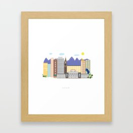 Denver Framed Art Print