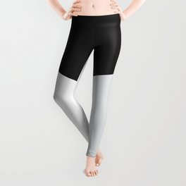Blocked Grey Leggings