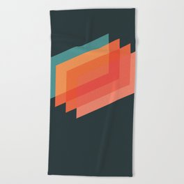 Horizons 01 Beach Towel