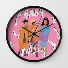 TLC Wall Clock