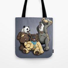 Three Angry Bears Tote Bag