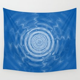 Ripples_blue Wall Tapestry