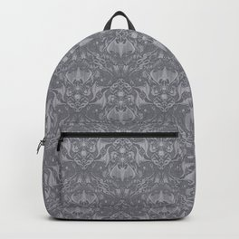Bats and Beasts - Gray and White Backpack
