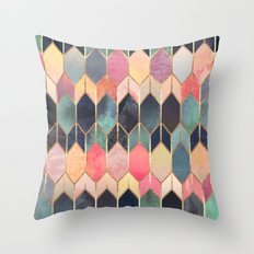 Stained Glass 3 Throw Pillow