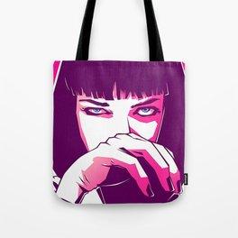 Mia Wallace Goddamn Tote Bag