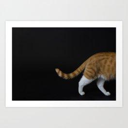 Ginger cat 2 Art Print