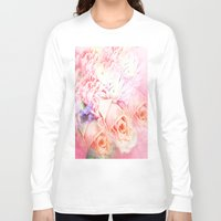 roses Long Sleeve T-shirts featuring Roses  by Saundra Myles