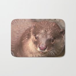 Smooth Coated Otter  Bath Mat