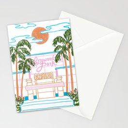 Hollywood Park Casino Stationery Cards