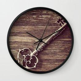 Just a Plain Ole' Prop Key Wall Clock