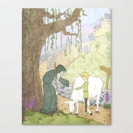 The Mysterious Man's Mysterious Beans Canvas Print