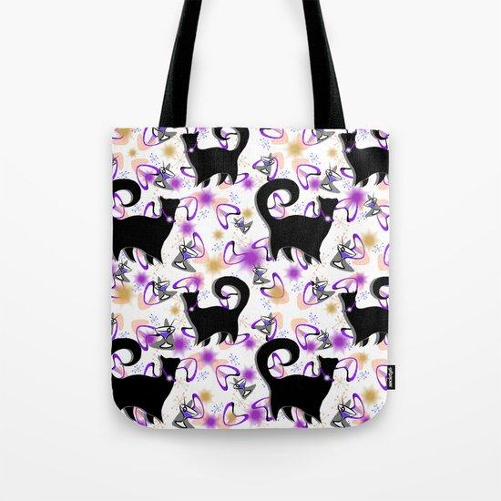 Retro Snobby Cats 3 Tote Bag