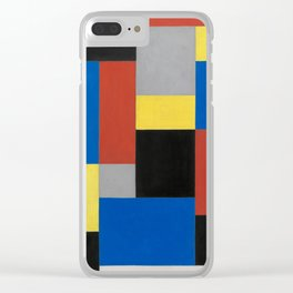 Composition XX (High Resolution) Clear iPhone Case