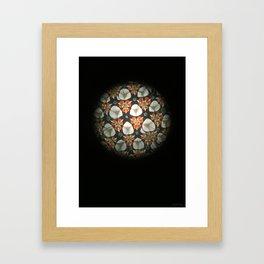 Caleidoscope Art | Jardim Framed Art Print