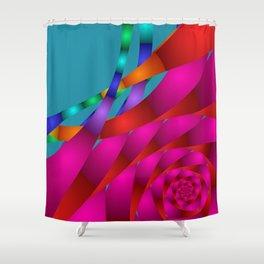 fractal geometry -130- Shower Curtain