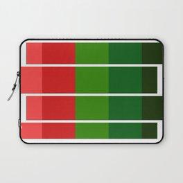 Christmas color bar Laptop Sleeve