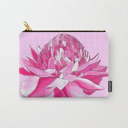 Flower#11 - Red Ginger Lily Carry-All Pouch