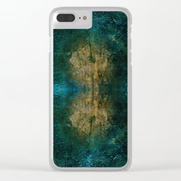 Iron Oxide Dragonfly Clear iPhone Case
