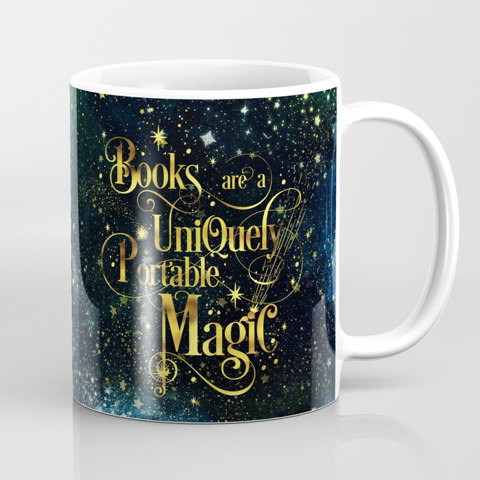 Books Are a Uniquely Portable Magic Coffee Mug