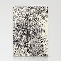 doodle Stationery Cards featuring Doodle by Antria Sofroniou