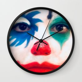 Ridi pagliaccio Wall Clock