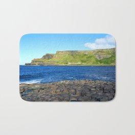 Gigant's Causeway. Antrim Coast. Northern Ireland Bath Mat