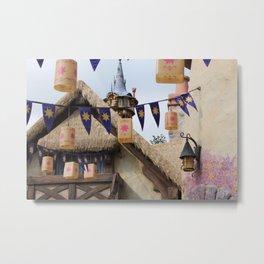 Tangled Tower Metal Print