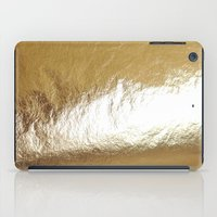 gold foil iPad Cases featuring Gold Foil by The Wellington Boot