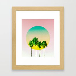 Brisa Tropical Framed Art Print