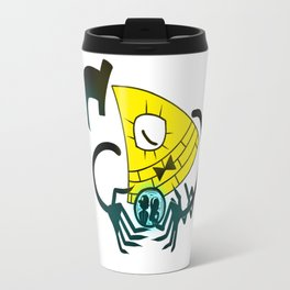 Bill Cipher Travel Mug