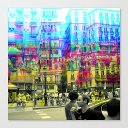 As an example of a result in spite of the process. Canvas Print