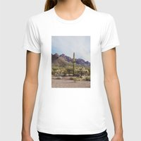 arizona T-shirts featuring Arizona Cactus by Kevin Russ