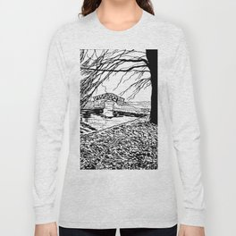 Et le jardin apparut  / And the garden appeared Long Sleeve T-shirt
