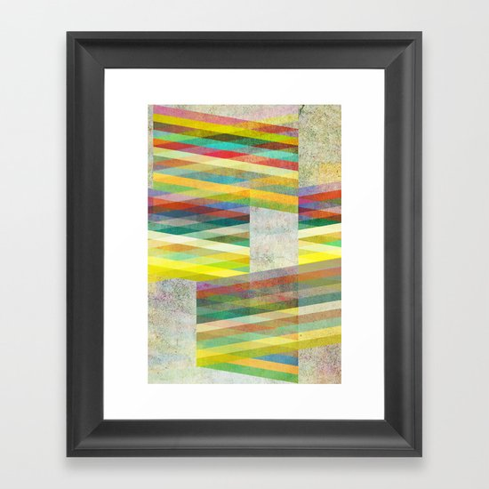 Graphic 9 Framed Art Print