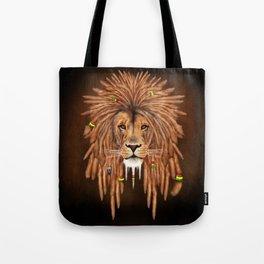 Dreadlock Lion Tote Bag