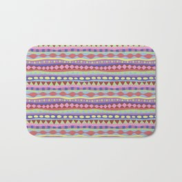 Stripey-Coolio Colors Bath Mat