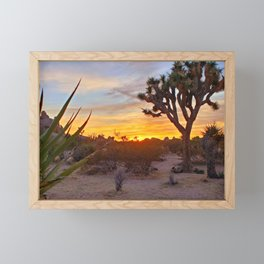 Vivid Daydream in Joshua Tree Framed Mini Art Print