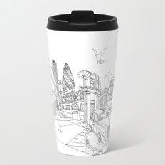 London! Original landscape version Travel Mug