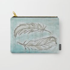 Feathers and memories Carry-All Pouch