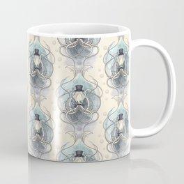 Victorian squid Damask pattern Coffee Mug