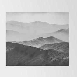 Smoky Mountain Throw Blanket