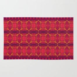 Marburg virus tapestry- by Alhan Irwin Rug
