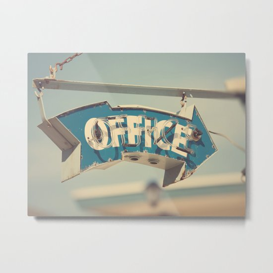 Office Metal Print
