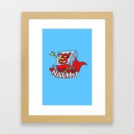 LuchaBob Framed Art Print