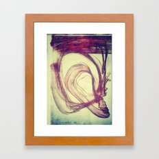 Gasping For Air Framed Art Print