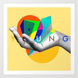 Young Again Art Print
