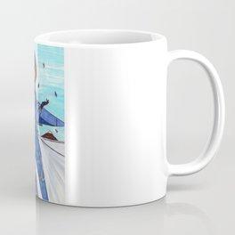 Flight to Winter Wonderland Coffee Mug