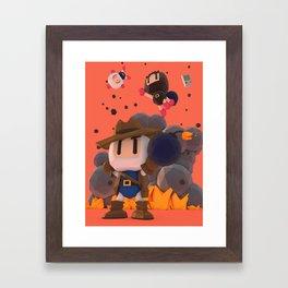Bomberman GB Framed Art Print