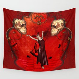 Awesome fantasy women Wall Tapestry
