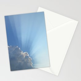 Blessings from above Stationery Cards